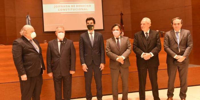 """Sáenz: """"La reforma parcial de la Constitución de Salta fortalecerá la democracia y a sus tres poderes"""""""
