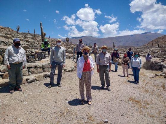 Verifican las obras de conservación realizadas en el Qhapaq Ñan