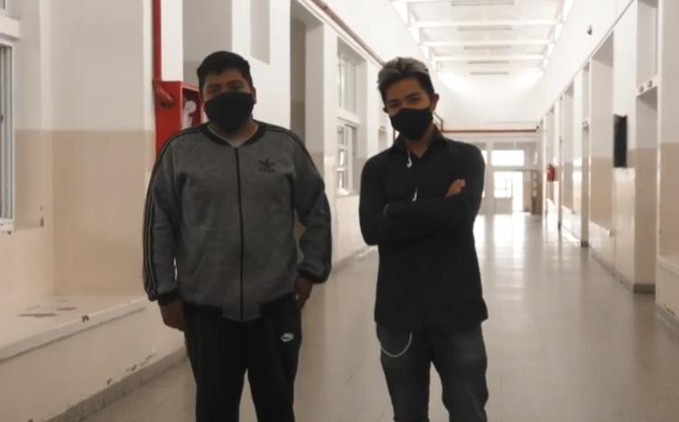 La Técnica de Quijano mostro el robot sanitizador